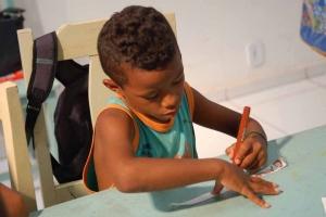 Basteln für den Verein Kinderhilfe Brasilien